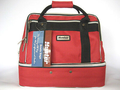Traditional Style Red 4-Bowls Carry Bag GREAT BAG AT A GREAT PRICE