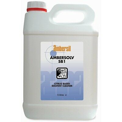 Limpiador Disolvente Aceites Citricos Ambersolv Sb1 25L Ambersil 31786