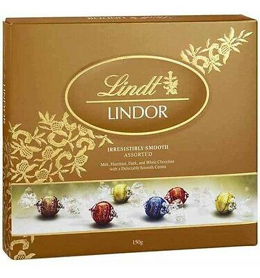 Lindt Lindor Assorted Ball Gift Box 150g