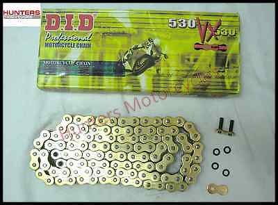 Yamaha FZ1 (2006 to 2014 Models) DID Gold X-Ring Chain 50VXGB122