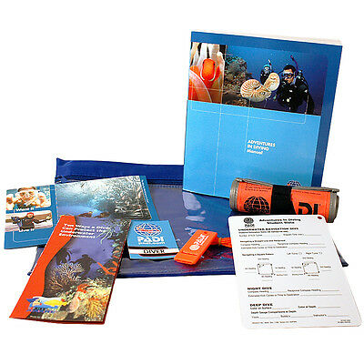 PADI Adventures in Diving Advanced Course Crewpack with whistle and SMB
