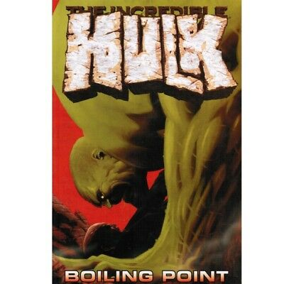BD comics Marvel The Incredible Hulk Boiling Point
