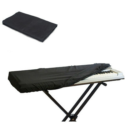 Black Keyboard Dust Cover Waterproof Dustproof Storage Bag for 61 Key Piano New