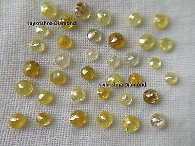 Natural Loose Diamond Rose Cut Mix Color 2 00 To 5 00 Mm 1 Tcw Scoop