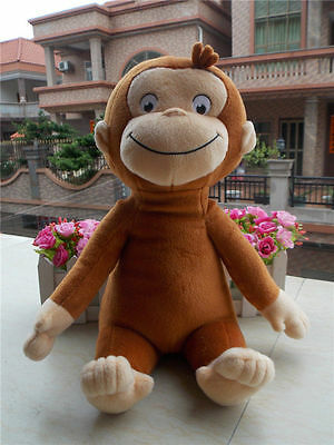 New SK Japan CURIOUS GEORGE Monkey Plush Toy 12""