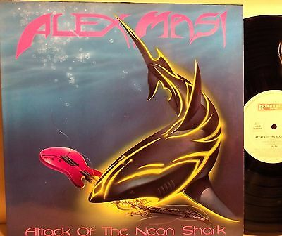 Lp-Alex Masi-Attack Of The Neon Shark-Olanda 1989