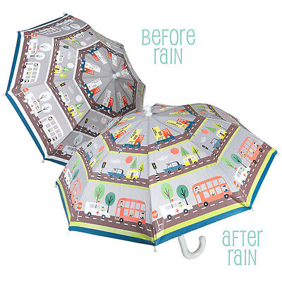 Colour Changing Childrens Umbrella - Transport