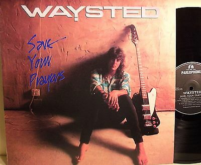 Lp-Waysted-Save You Prayers-Italia 1986-