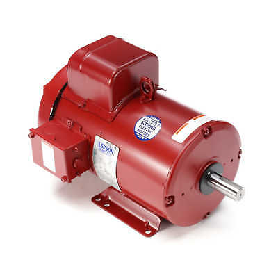 131543.00  Leeson 5HP Farm Duty Motor 1725RPM, 184T Frame, 230V, 1Ph, 1 1/8""