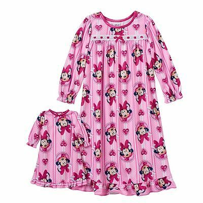 Girl 2T-4T and Doll Matching Nightgown Pajama Clothes American Girls Dollie & Me