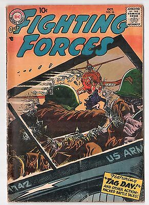 Our Fighting Forces #26 (1954 Series) Russ Heath Art DC Comics Oct 1957 VG-