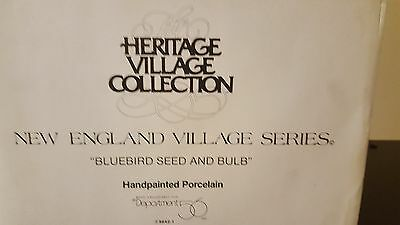 Heritage Village Collection Bluebird Seed and Bulb