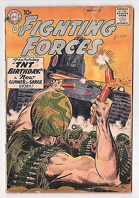 Our Fighting Forces #47 (1954 Series) Russ Heath Art DC Comics July 1959 GD
