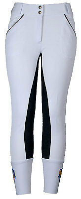 Ladies full seat Breeches in Microfiber Fabric
