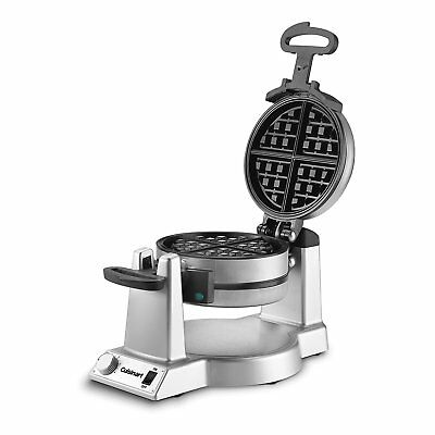 Commercial Waffle Maker Double Belgian Breakfast Baker Nonstick Restaurant 1400W