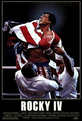Rocky Movie POSTER 11 X 17 In Deluxe Wood Frame Sylvester Stallone A
