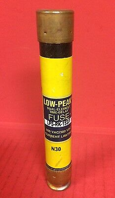 Bussmann Low-Peak Dual Element Time Delay LPS-RK-15SP Fuse - 600VAC/300VDC