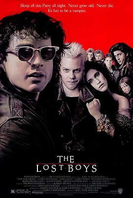 The Lost Boys Movie POSTER, 27 x 40, Kiefer Sutherland, A, LICENSED NEW
