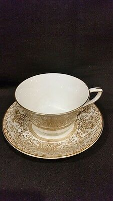 Royal Worcester Embassy Pattern Cup & Saucer