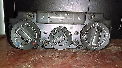 Volkswagen Jetta Heat/AC Controller, exc. City; w/heated font seats