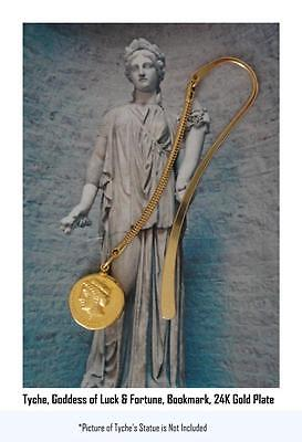 Percy Jackson Book Fans,Tyche, Goddes of Luck and Fortune With Owl, BOOKMARK 6-G