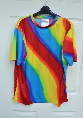 Halloween Costume tie dyed shirt size adult large