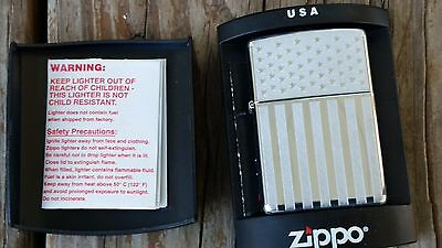 ZIPPO American Flag Lighter Mint in the box 2003