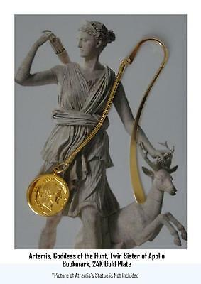 Percy Jackson Book Fans, Artemis, Twin Sister of Apollo, BOOKMARK 8-G