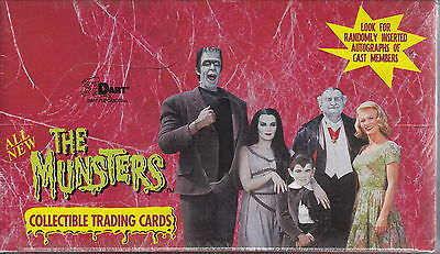 THE MUNSTERS - Series 2 Trading Cards Factory Sealed Box [Dart Flipcards] #NEW