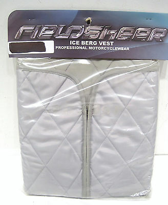 Fieldsheer Ice Berg Iceberg Motorcycle Quilted Cooling Vest Medium
