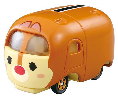 NEW Cute Takaratomy Tomica Disney Motors Tsum Tsum Mini Car Figure Toy - Dale