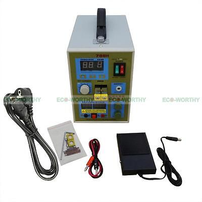 788H LED Dual Pulse Battery Spot Welder 18650 Battery Charger 0.1-0.2mm 36V 60A