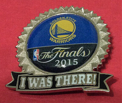 Golden State Warriors Nba Finals 2015 I Was There Pin
