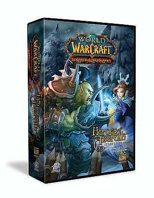 WORLD OF WARCRAFT TCG - Heroes of Azeroth Cards Starter Deck #NEW