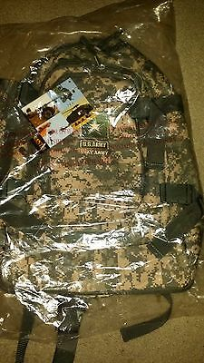 "US Army ACU Digital Camo Backpack 21"" x 16""  NEW"