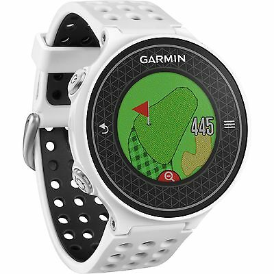 Brand New Garmin Approach S6 GPS White Golf Watch with Color Touchscreen