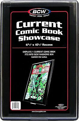 """CURRENT AGE Comic Book Showcase Display Case NEW 6 3/4"""" x 10 1/4"""" recess"""