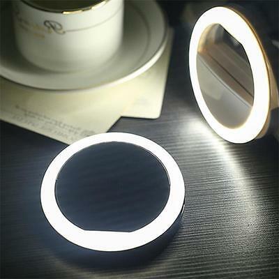 LED Selfie Portable Ring Flash Light Camera Photo For iPhone Mobile Phone