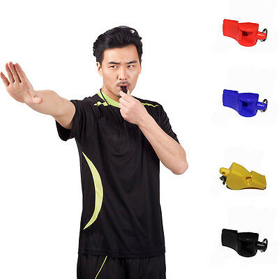 4X Football Soccer Sports Referee ABS Whistle Emergency Survival SE