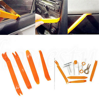 Plastic Dash Trim Panel Molding Removal Tool Set Pry Bar Board Auto Car Door