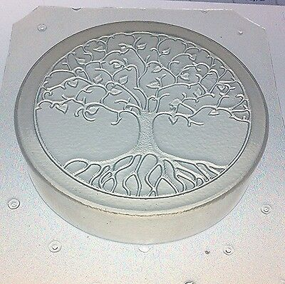 "Flexible Plastic 3"" Soap or Orgone Mold Sacred Geometry Tree of Life"