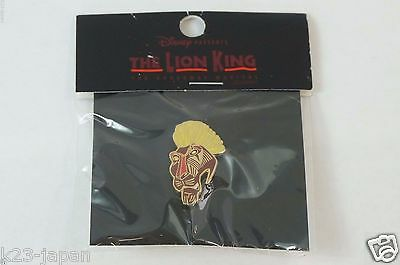 RARE! Disney JAPAN Musical LE Pin Scar The Lion King The Broad Way Musical