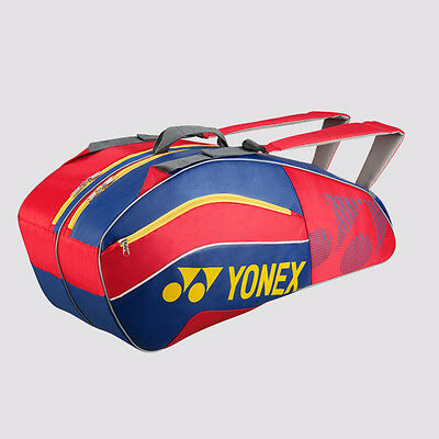 Yonex 8526 Tournament Active 6 Racket Bag (Blue-Red)
