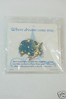 Walt Disney Attractions JAPAN Special Gift Pin Tinker Bell