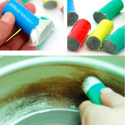 2PC Magic Stainless Steel Rust Remover Cleaning Stick Wash Brush Cleaner Tool