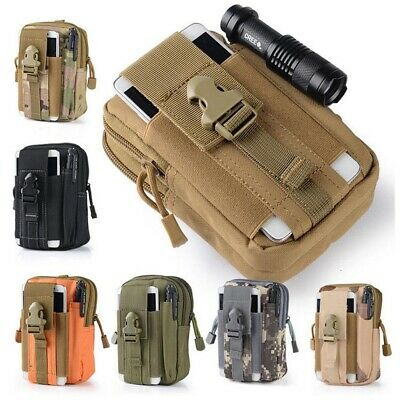 Tactical Waist Pack Belt Bag Camping Hiking Outdoor Military Molle Pouch Wallet