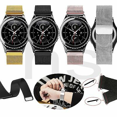 New Milanese Stainless Steel Watch Band Strap+Tools For Samsung Gear S2 Classic