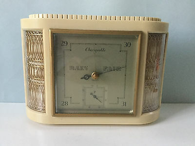 Vintage Smiths Barometer – Rectangular Art Deco Frame - Made in England