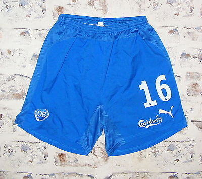 Size M Puma vintage 90s baggy fit swim/football/running shorts blue (GP75)