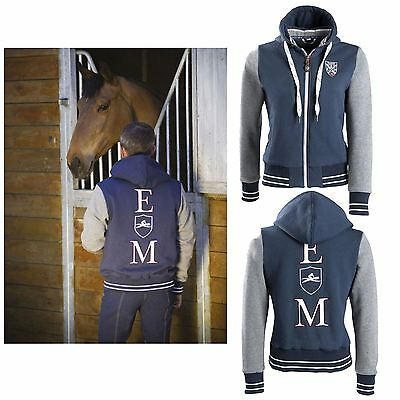Equit?M Kids ?E.L? Flannelette Jacket Navy/Grey